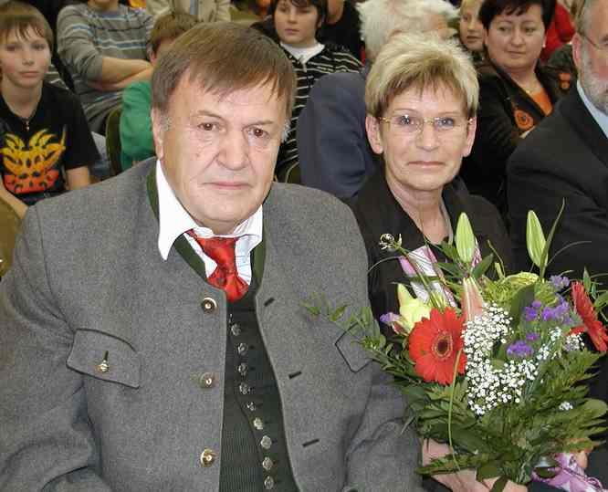Ehepaar Matscheko im Ruhestand