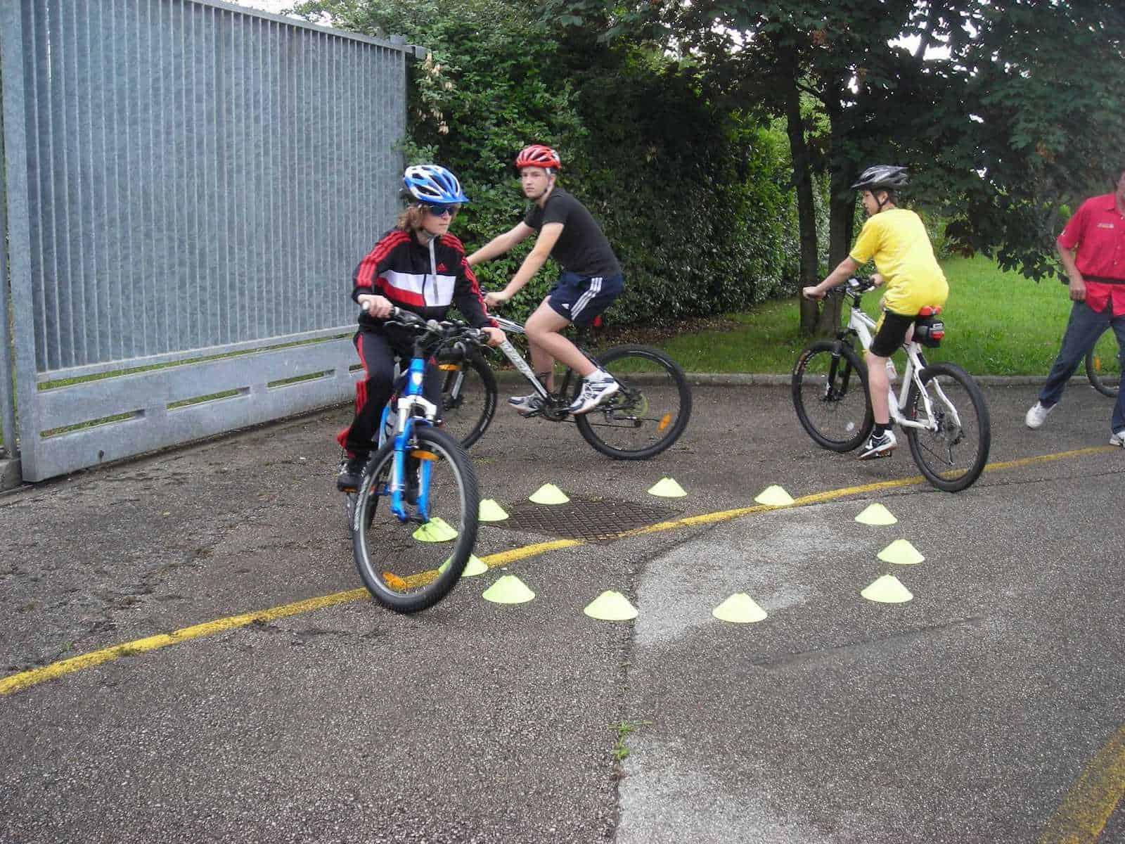 Radfahrsicherheitsprojekt
