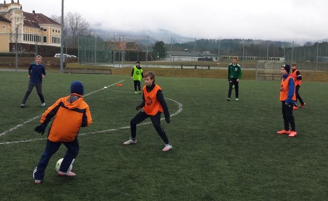 Fußballcamp in Schielleiten
