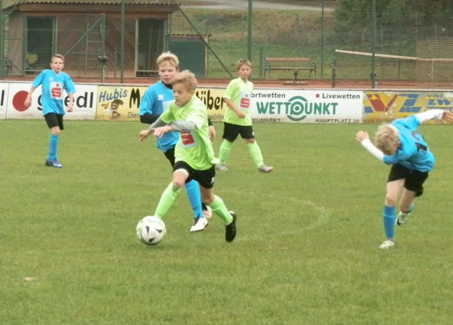 Fußball Schülerliga Herbst 2016