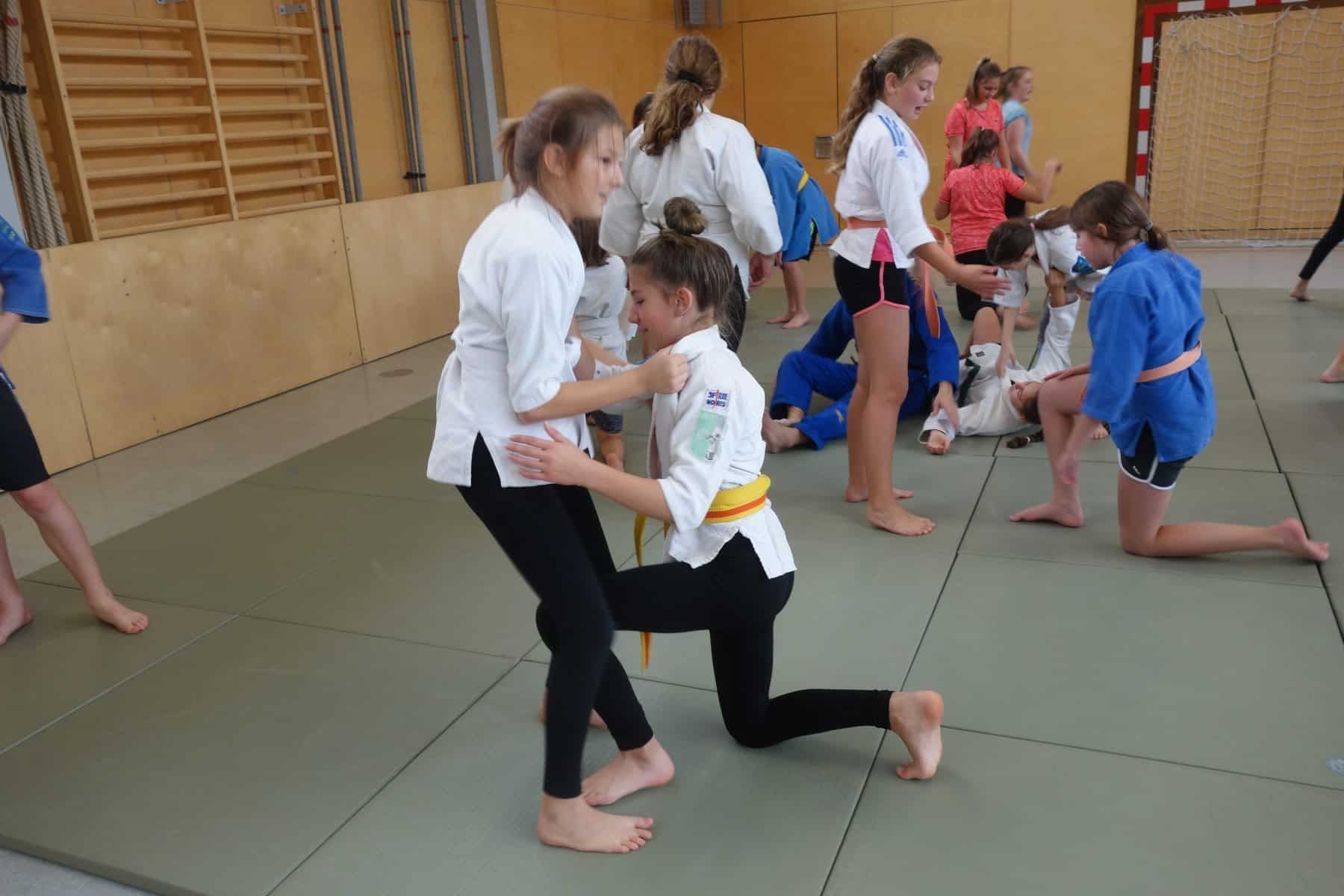 Judo – neue Bewegungserfahrungen