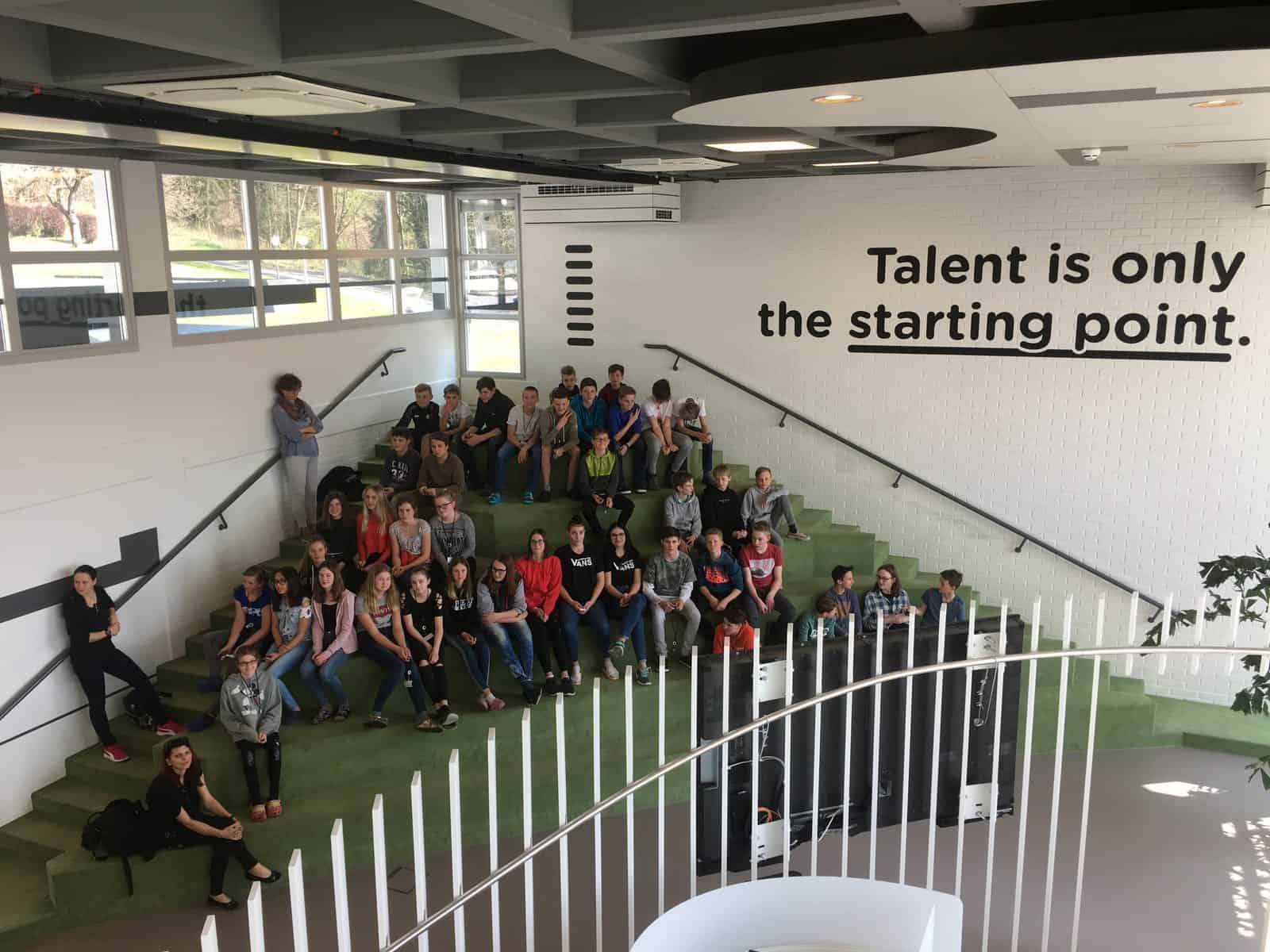 Besuch im Talent-Center der WKO in Graz